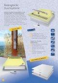 LED-POWER - SHOWERS - FLÄCHENENTWÄSSERUNG   2 0 1 4 / 2 0 1 5   - Seite 6