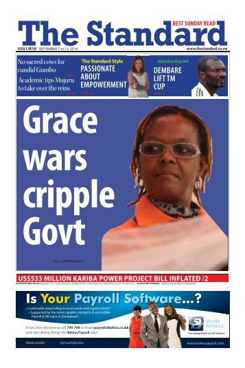 Grace wars cripple Govt