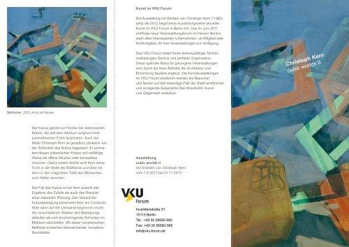 Christoph Kern cubic worlds II