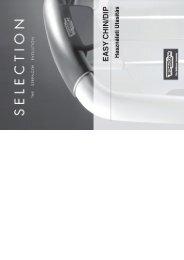 Personal Selection Easy Chin Dip használati utasítás