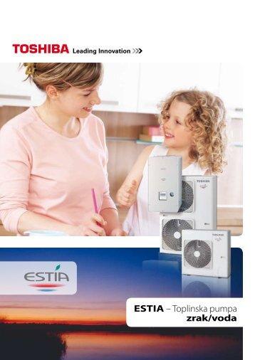 ESTIA – Toplinska pumpa zrak/voda - AIR-COND Klimaanlagen ...