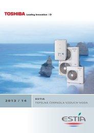 Prospekt Toshiba Estia 2013 - AIR-COND Klimaanlagen ...
