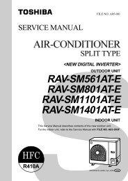 outdoor unit rav-sm561at-e rav-sm801at-e rav ...
