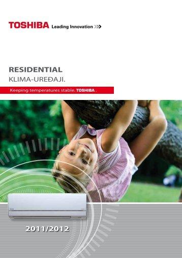 RESIDENTIAL 2011/2012 - Toshiba