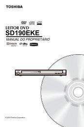 sd190eke leitor dvd - Toshiba-OM.net