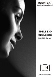 19EL833G 22EL833G - Toshiba-OM.net
