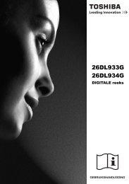 26DL933G 26DL934G - Toshiba-OM.net