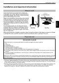 Série CV51* XV51* DIGITAL - Toshiba-OM.net - Page 5