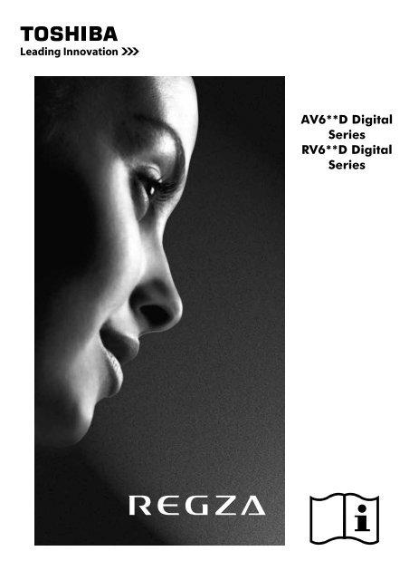 User Manual AV6**D Digital Series RV6**D ... - Toshiba-OM.net