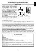 User Manual AV6**D Digital Series RV6**D ... - Toshiba-OM.net - Page 5