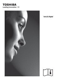 Seria ZL2 Digital - Toshiba-OM.net