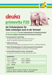 primovita F25 - deuka Deutsche Tiernahrung Gmbh & Co. KG