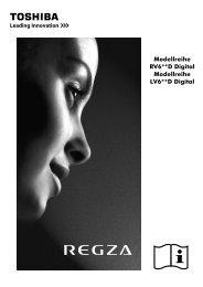 Modellreihe RV6**D Digital Modellreihe LV6**D ... - Toshiba-OM.net