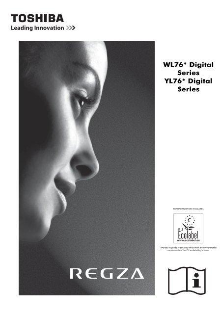 WL76* Digital Series YL76* Digital Series - Toshiba-OM.net