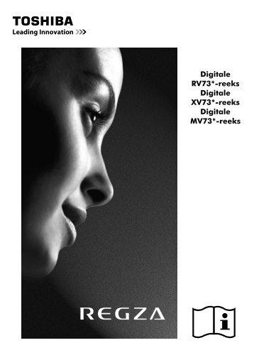 Digitale RV73*-reeks Digitale XV73*-reeks ... - Toshiba-OM.net