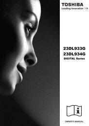 23DL933G 23DL934G - Toshiba-OM.net