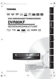 DVR80KF - Toshiba-OM.net