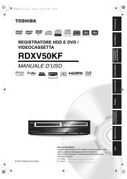 RDXV50KF - Toshiba-OM.net