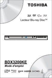 BDX3200KE - Toshiba-OM.net