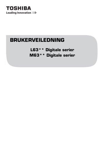 BRUKERVEILEDNING - Toshiba-OM.net