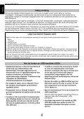 BRUKERVEILEDNING - Toshiba-OM.net - Page 6
