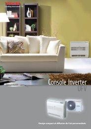 Console Inverter UFV - Toshiba