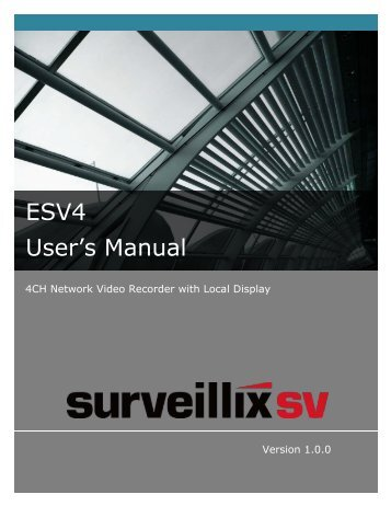 ESV4 User's Manual - Toshiba