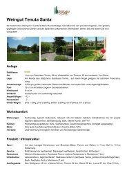 2-Zi Wohnung - Toskana Exquisit