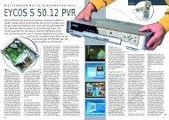 EYCOS S 50.12 PVR - Totaal TV