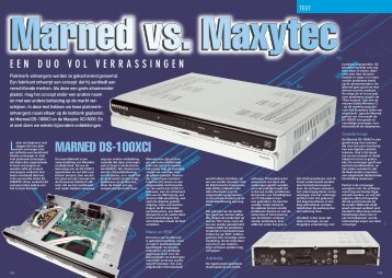 MARNED DS-100XCI - Totaal TV