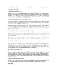 Q&A Recording and Mastering .pdf - total-av.com