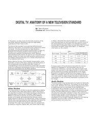 Digital TV: Anatomy of a New Television Standard .pdf - total-av.com