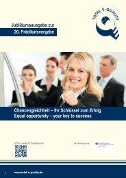 Chancengleichheit – Ihr Schlüssel zum Erfolg ... - Total-E-Quality