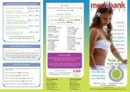 Download our New Spa Menu Pricelist - Total Bliss Health and Beauty