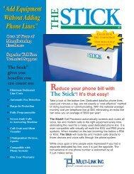 to print pdf Stick Brochure 2 - Higgins International