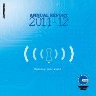 ANNUAL REPORT - Communications Commission of Kenya