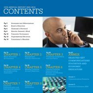 Annual Report for the Financial Year 2009/2010 - Communications ...