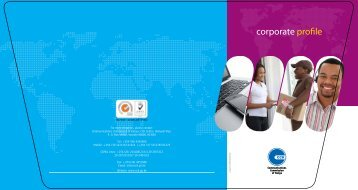 corporate profile - Communications Commission of Kenya