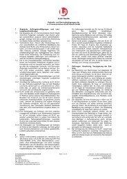Verkaufs- und Servicebedingungen der L-3 ... - Elac-Nautik