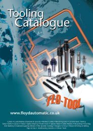 Flo-Tool Catalogue - Floyd Automatic Tooling Ltd