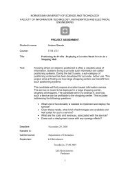 downloaded - Department of Telematics - NTNU