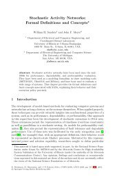 Stochastic Activity Networks: Formal Definitions and Concepts*