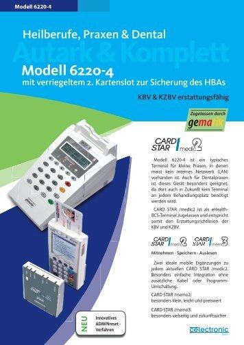 6220-4 Regular 17012011.indd - CCV Celectronic CARD STAR