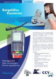 Bargeldlos Kassieren - CCV Celectronic CARD STAR