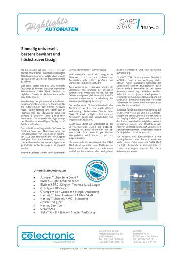Download - CARD STAR Automaten-Systeme
