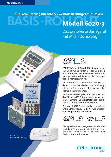 Modell 6020-3 - CCV Celectronic CARD STAR