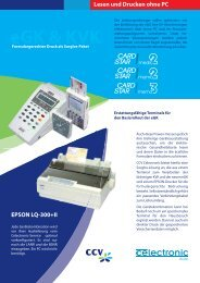 Epson mit KVK und eGK.indd - CCV Celectronic CARD STAR
