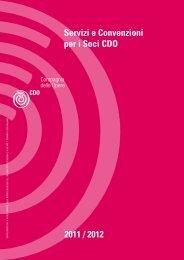 2011 / 2012 Servizi e Convenzioni per i Soci CDO - Compagnia ...