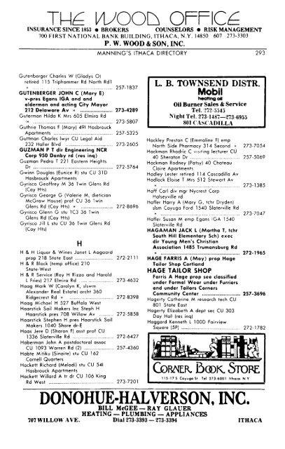 DONOHUE-HALVERSON  INC  - Tompkins County Public Library