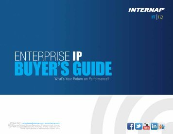 Download our Enterprise IP Buyer's Guide Now. - Internap